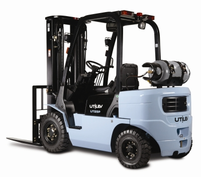 Utility forklift launched