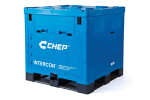 New head for CHEP containers