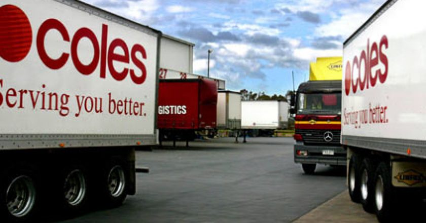 An alliance of unions representing transport, farm and retail workers will work with one of Australia's largest supermarket chains, Coles.