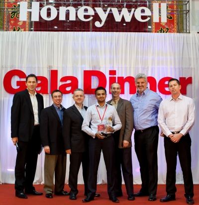 Dematic Real Time Logistics receives Honeywell Partner of the Year Award