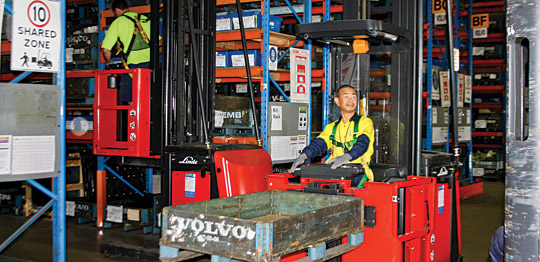 Volvo gets 50-strong Linde fleet