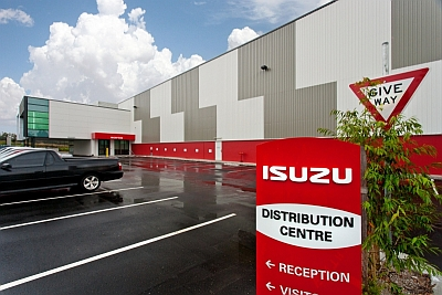 Isuzu opens new Brisbane parts facility