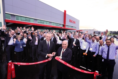 Ricoh officially opens new, green HQ in Sydney