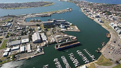 There's more to the Port of Newcastle than just containers