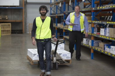 Voice technology training to boost warehouse productivity