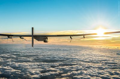 Solar Impulse arrives in Europe