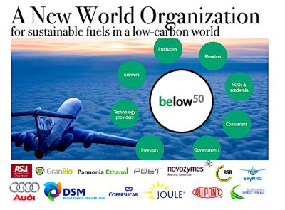 Below50: new peak organisation for low-carbon fuels