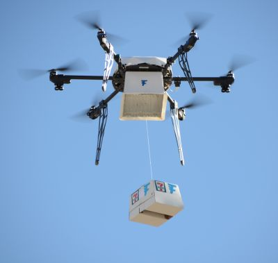 First-ever FAA-approved drone delivery to customer's home