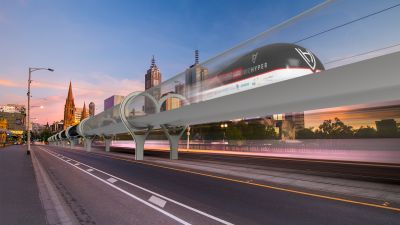 Will the VicHyper-Pod be the one supported by the government?