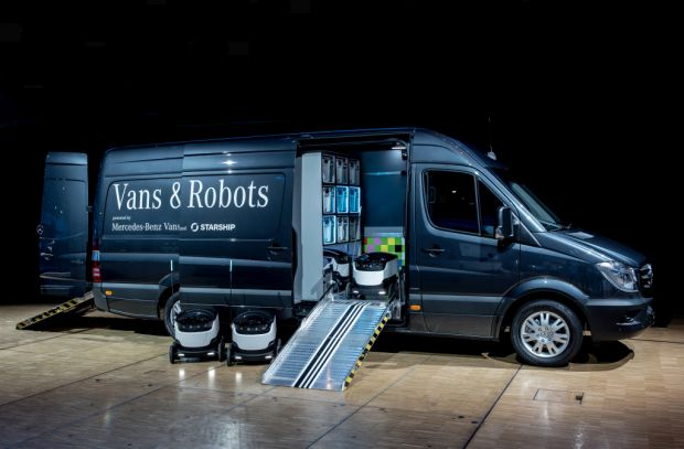 Mercedes invests in delivery robots