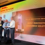 DHL Asia Pacific Most Innovative Customer Solution awarded to DHL Global Forwarding Australia in collaboration with Schindler Lifts.