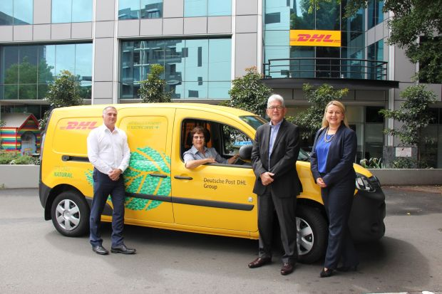 DHL Australia is going electric