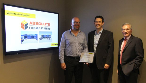 Absolute wins Distributor of the Year award for 2016