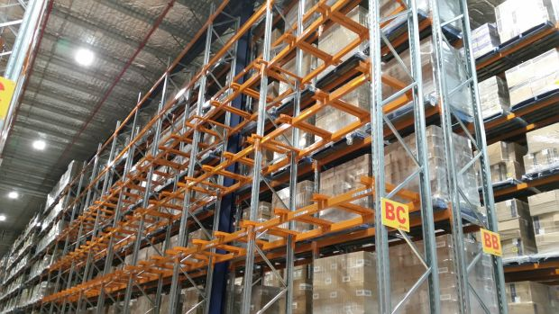Retrofit pallet guides for increased safety