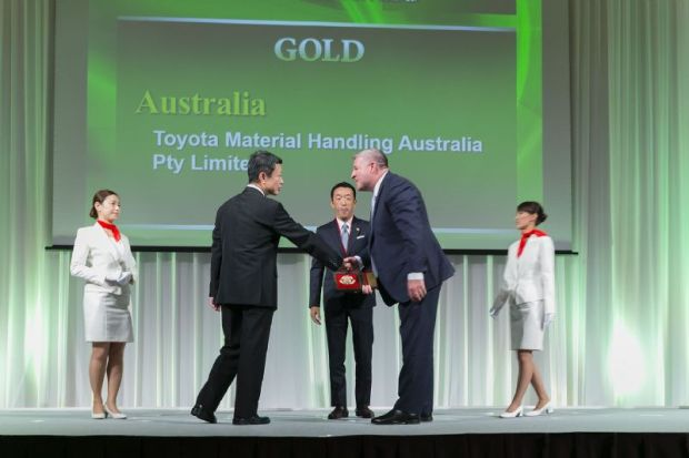 Back-to-back international awards for Toyota Australia