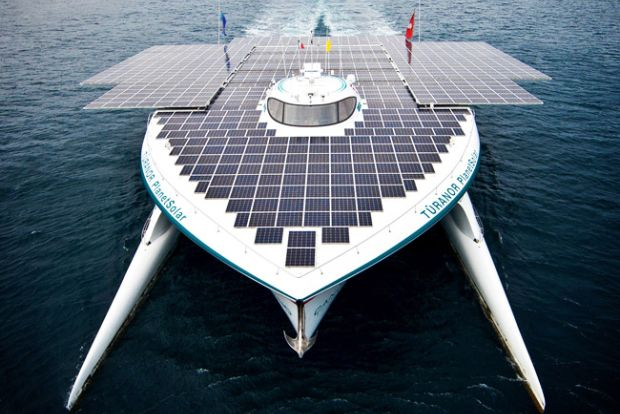 Energy-independent electric ships lead the way