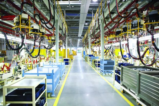 Smart factories to boom by 2022