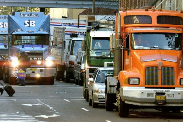 Truckers unhappy with new national laws