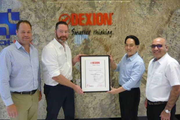 Safer Storage signs up with Dexion