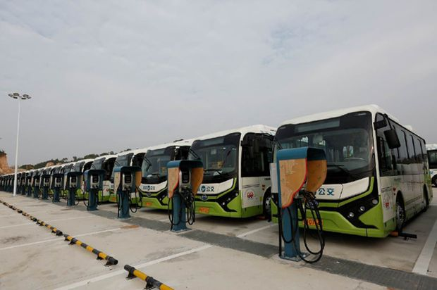 Buses to go electric, trucks to follow