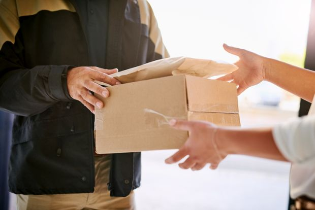 Not at work: 29% of employers don't allow deliveries to work