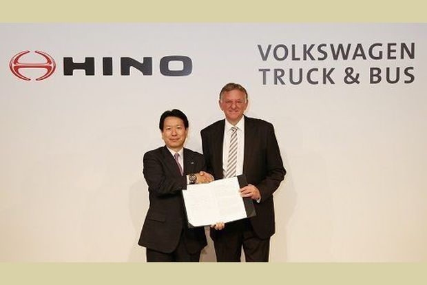 Hino and Volkswagen Truck & Bus team up