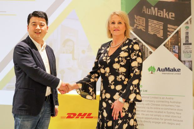 Chinese shoppers deliver 80,000 customers to DHL