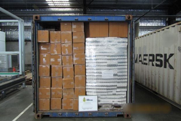 10 million illicit cigarettes caught by Customs