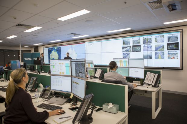 Toll opens high-tech control room in Melbourne