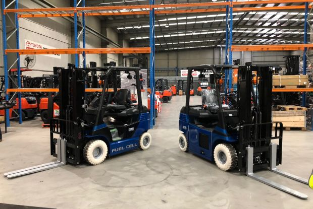 Toyota forklifts go on a hydrogen charge