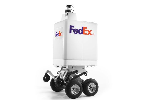 Delivering the future: the delivery robot arrives