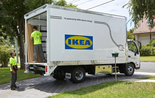 IKEA deliveries to be all electric by 2025