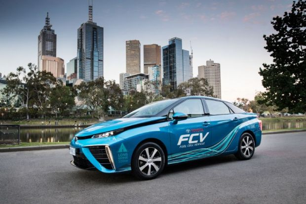Toyota plans Victoria's first hydrogen refuelling station