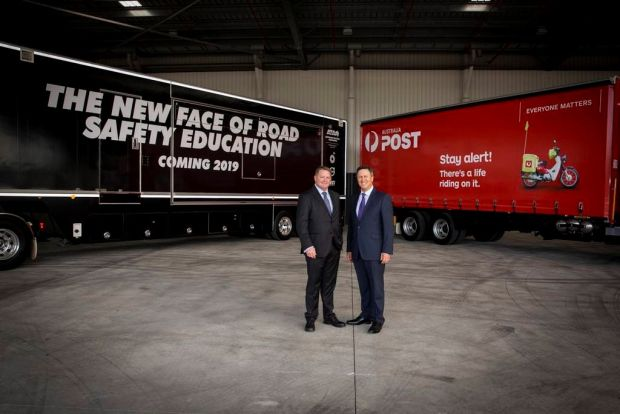 Australia Post ATA truck safety
