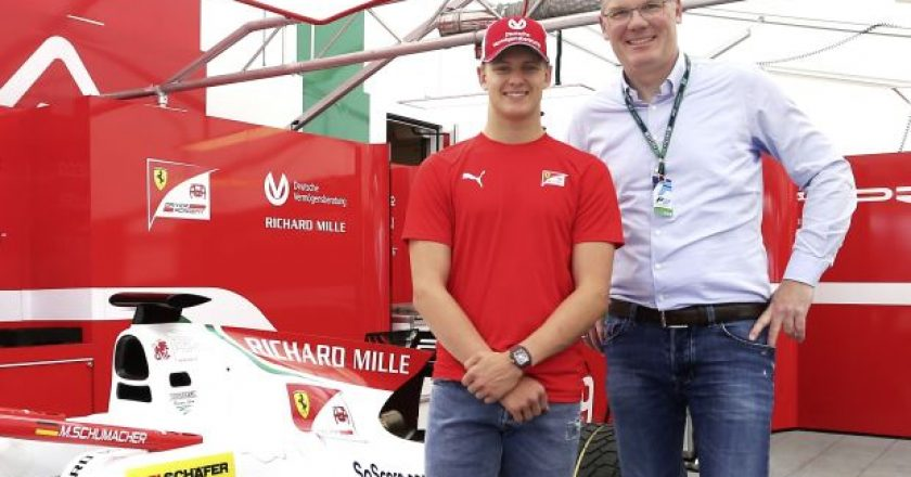 Formula 2 driver Mick Schumacher has been appointed brand ambassador in a long-term partnership with intralogistics specialist SSI Schaefer.