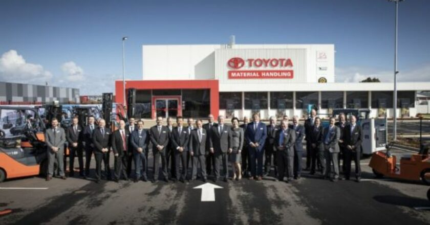 Toyota forklift Opening-new Adelaide branch019