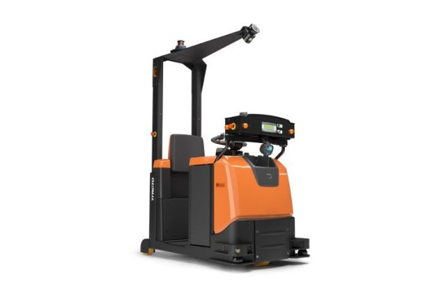 Toyota automation forklift materials handling