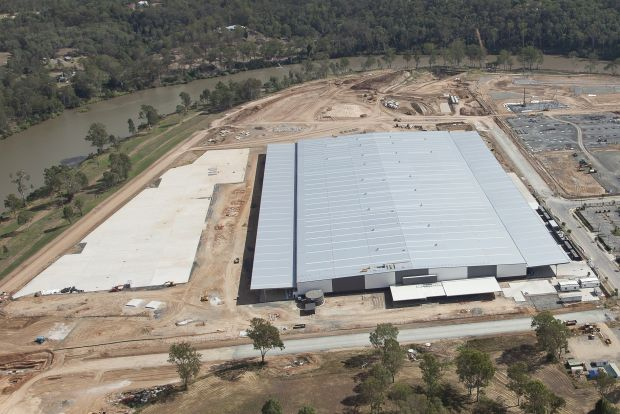 The new facility is part of Australia Post's three-year, $900 million investment in parcel processing nationally.