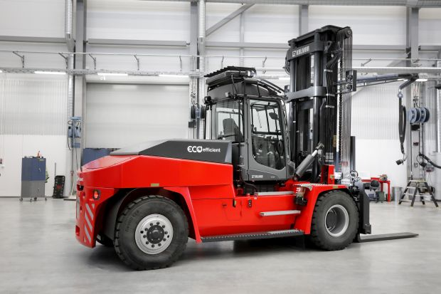 Kalmar launches 9-18t lithium battery electric forklifts
