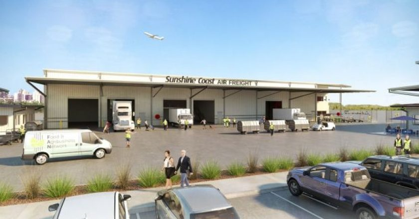 sunshine coast airport freight logistics centre