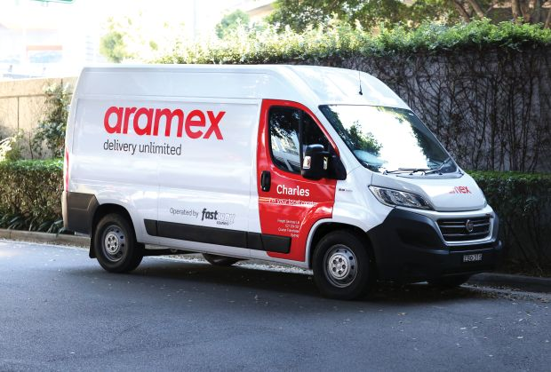 Fastway out, Aramex in