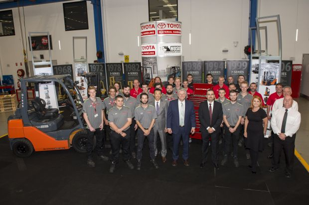 2019 Toyota Materials Handling - 2019 Apprentice induction session at TMHA Moorebank. (Photo Narrative Post/Matthias Engesser)