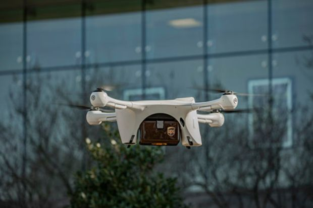 UPS to launch commercial drone delivery operation
