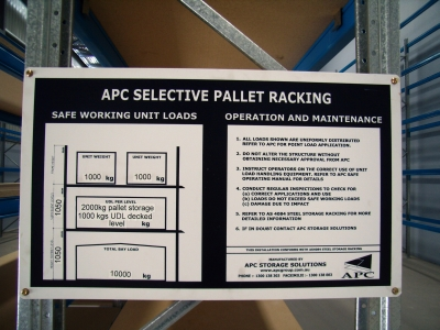 New Steel Storage Racking Inspection Guidelines