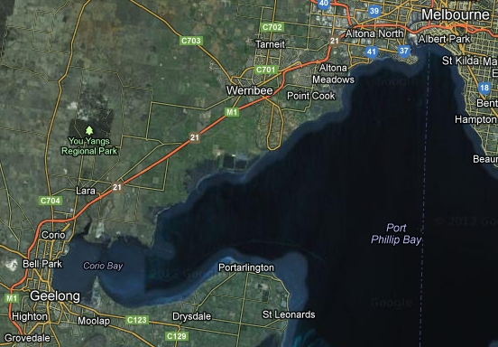 Yet another major port for Victoria?