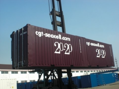Designers find more space in shipping container