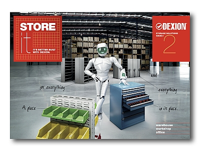 Dexion 'Store It' catalogue is coming