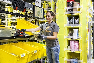 Amazon grows by the thousands