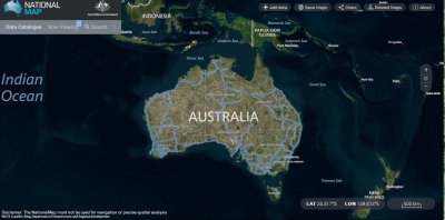 Australia Map Key.National Online Key Freight Routes Map Launched Transport