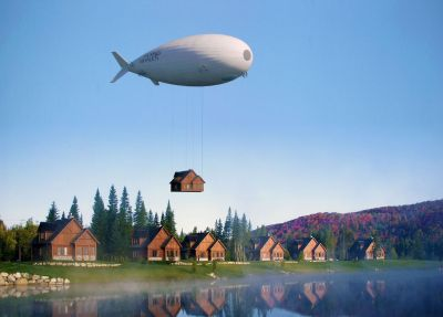 Flying Whales and Skeletons: the next generation of large capacity airships coming soon